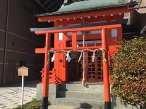 上土朝日稲荷神社