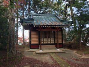 韮崎城の熊野神社