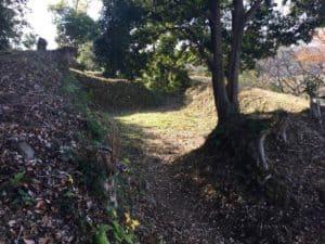韮山城の煙硝曲輪