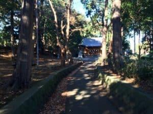 長久保城の城山神社