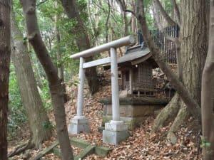 大庭城の神社