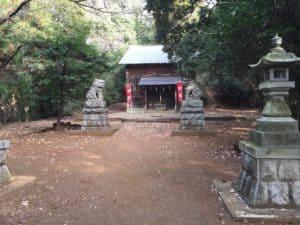 高尾・白山神社の本殿