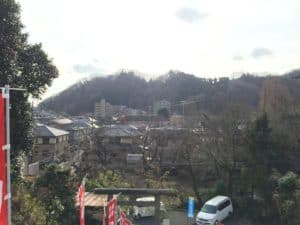 高乗寺城方面の展望