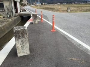 浅井長政本陣跡の陣屋橋
