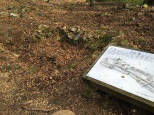 小谷城の井戸跡