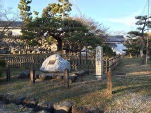 長浜城の本丸跡