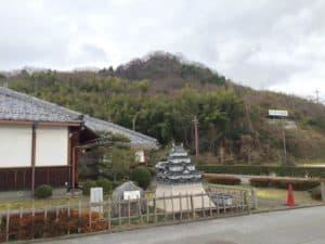 佐和山城の遠景