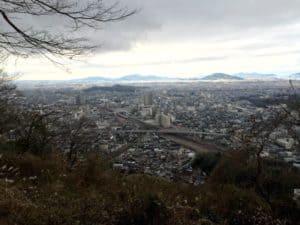 佐和山城からの展望