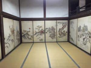 彦根・龍潭寺の襖絵