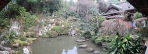 彦根・龍潭寺の蓬莱庭園