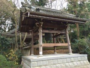 彦根・龍潭寺の鐘楼