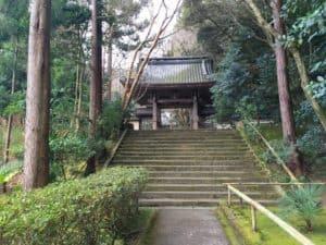彦根・龍潭寺の参道