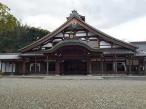 清涼寺の客殿