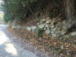 観音寺城の石垣