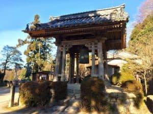 観音正寺の鐘楼