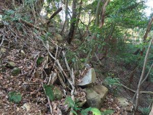 観音寺城の本丸