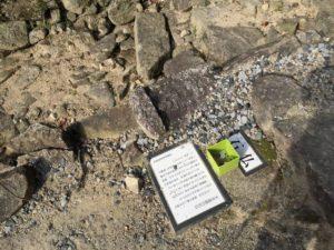 安土城の階段に使われた石仏