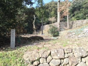 安土城の羽柴秀吉屋敷跡