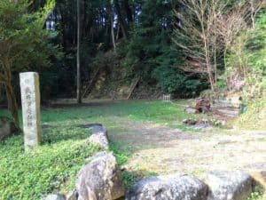 武井夕庵の屋敷跡