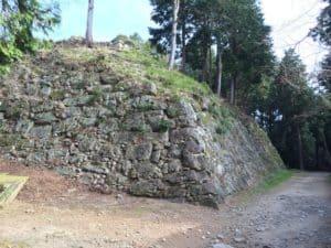 安土城の天守石垣