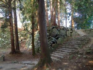 安土城の天守台