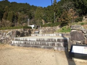 安土城の大手門跡