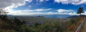 八幡山城からの展望