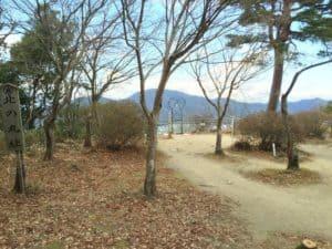 八幡山城・北の丸