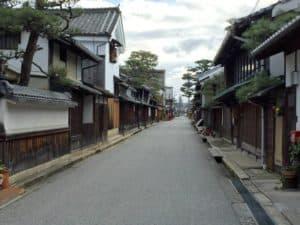 近江八幡の城下町