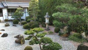 彦根・宋安寺の庭園