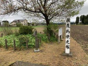 長尾為景の墓