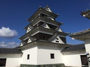 大洲城の天守
