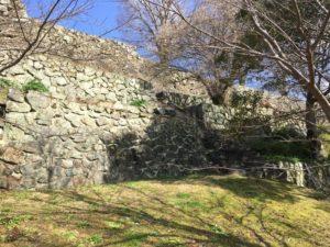 大洲城の曲輪群