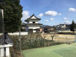 大洲城・三の丸南隅櫓