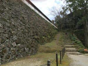 宇和島城の藤兵衛丸の石垣