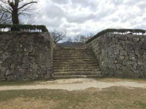 宇和島城の搦形門(一の門)跡