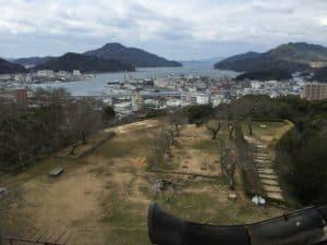 宇和島城からの展望