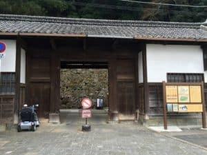 宇和島城の桑折長屋門