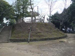 湯築城の本丸