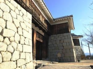 松山城・筒井門