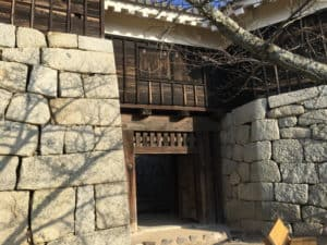松山城・隠門