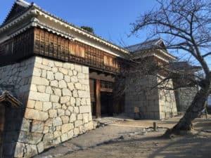 松山城の筒井門