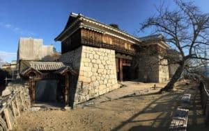 松山城の築城術