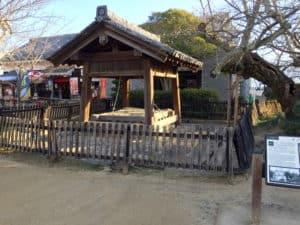 松山城の井戸