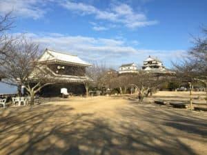 松山城の本丸