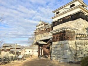 松山城の紫竹門