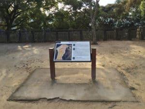 松山城の揚木戸門跡付近