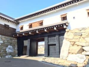 今治城の鉄御門