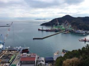 伯方島の造船業