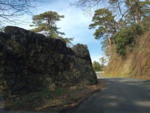 唐沢山城の枡形虎口